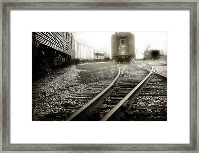 Steam Railroading 3 Framed Print by Scott Hovind