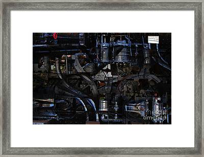 Steampunk Patent 1215 Prototype B Framed Print by Wingsdomain Art and Photography