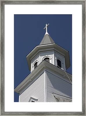 Steeple Top Framed Print by Robin Regan