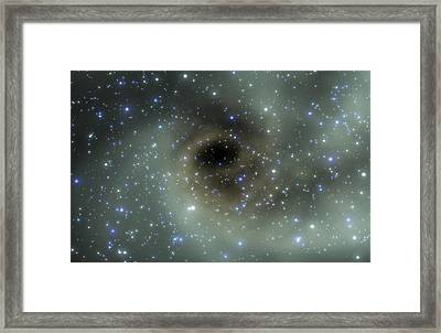 Stellar Formation Framed Print by Take 27 Ltd
