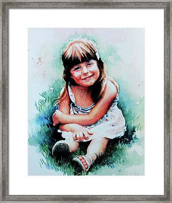 Stephanie Framed Print by Hanne Lore Koehler