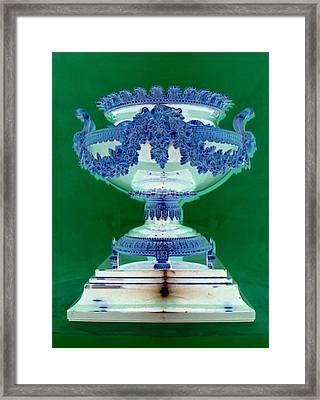 Sterling Urn Framed Print by Randall Weidner