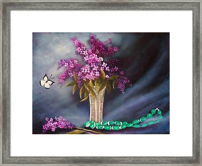 Still Life 8 Framed Print by Joni McPherson