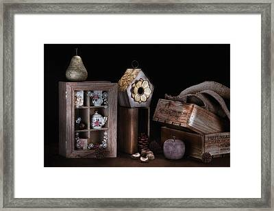 Still Life Light Painting Framed Print by Tom Mc Nemar