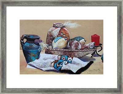 Still Life Framed Print by M Diane Bonaparte