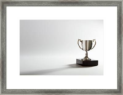 Still Life Of A Trophy Framed Print by Quiet Noise Creative