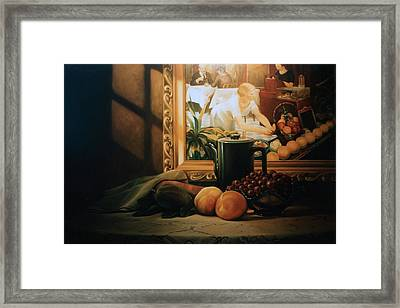 Still Life With Hopper Framed Print by Patrick Anthony Pierson