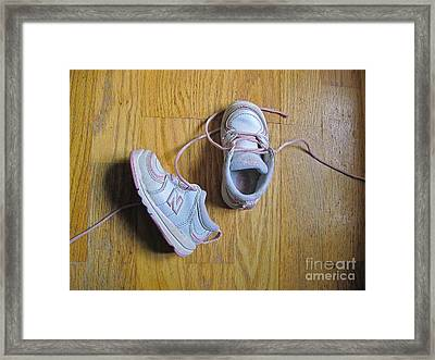 Still Life With Sneakers Framed Print by Sean Griffin