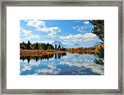 Still Reflections Framed Print by Greg Norrell