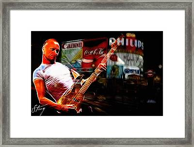 Sting Rocks London Framed Print by Steve K