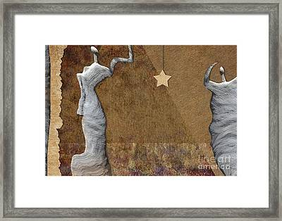 Stone Men 30-33 - Les Femmes Framed Print by Variance Collections
