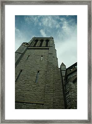 Stone Walled Framed Print by Travis Crockart
