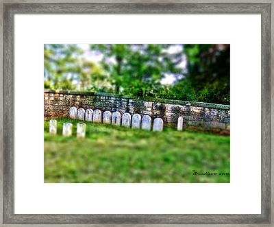 Stones River Battlefield Framed Print by EricaMaxine  Price