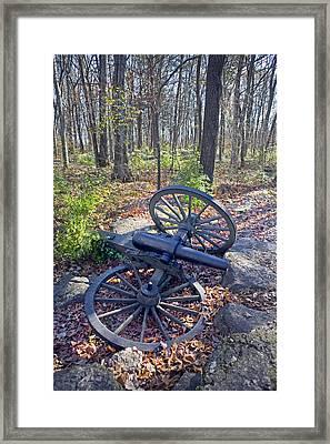Stones River Battlefield Framed Print by Luc Novovitch