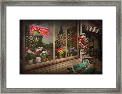 Store - Belvidere Nj - Fragrant Designs Framed Print by Mike Savad