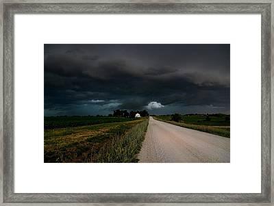 Storm Ahead Framed Print by Rick Rauzi