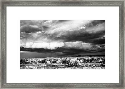 Storm Clouds Framed Print by Greg Jones