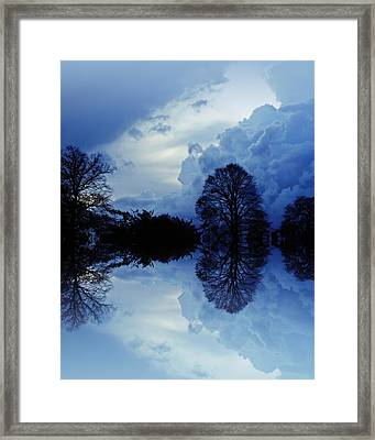Storm Clouds Framed Print by Sharon Lisa Clarke