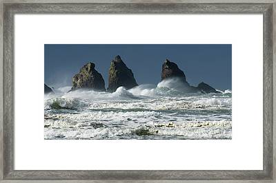 Storm Warning Framed Print by Bob Christopher