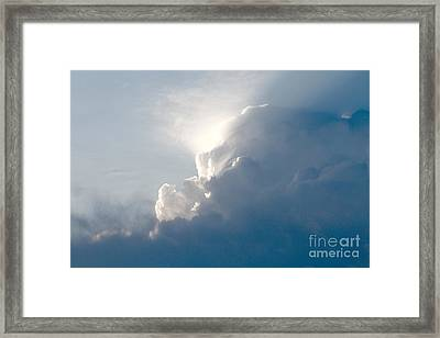 Storms Over Framed Print by Robert Pearson