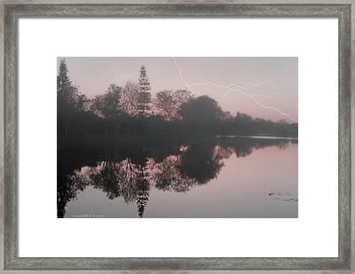 Stormy Monday Framed Print by Grace Dillon
