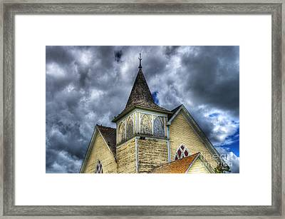 Stormy Times Framed Print by Bob Christopher