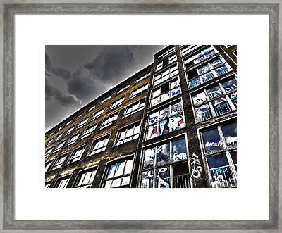 Stralauer Platz 29 - 31  Framed Print by Juergen Weiss