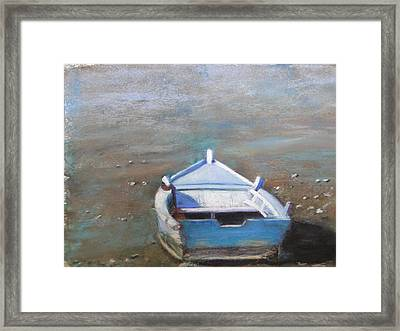 Stranded Framed Print by Cindy Plutnicki