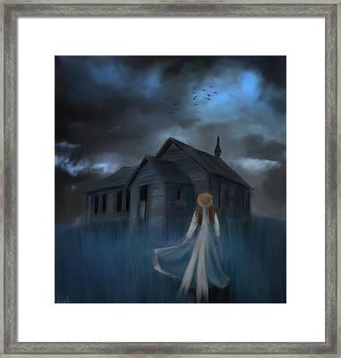 Strange Dream Framed Print by Hazel Billingsley