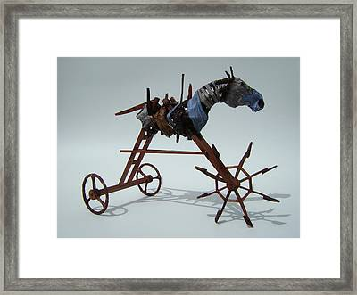Strangely Young Framed Print by Jim Casey