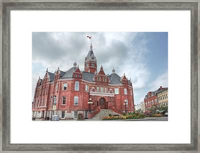 Stratford City Hall Framed Print by John-Paul Fillion