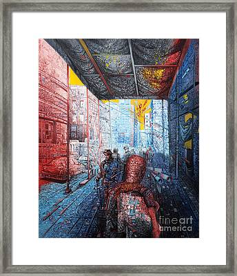 Street 2 Framed Print by Bekim Mehovic