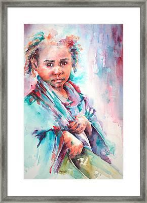 Street Life Framed Print by Stephie Butler