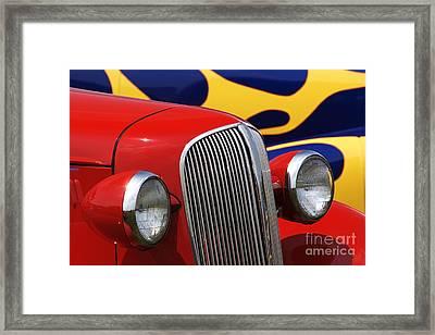 Street Rods - D001174 Framed Print by Daniel Dempster