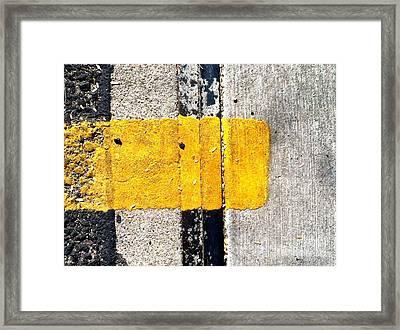 Streets Of Tucson 67 Framed Print by Marlene Burns