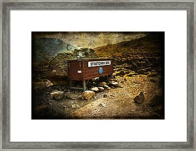 Stretcher Box Framed Print by Svetlana Sewell