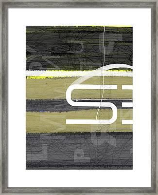 Stripes Framed Print by Naxart Studio