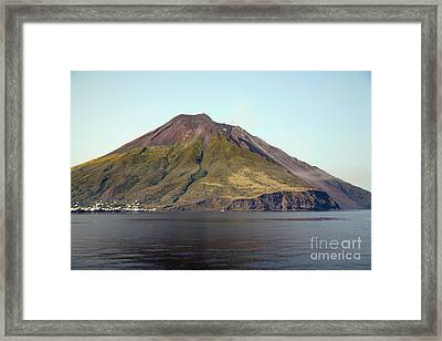 Stromboli Volcano, Aeolian Islands Framed Print by Richard Roscoe