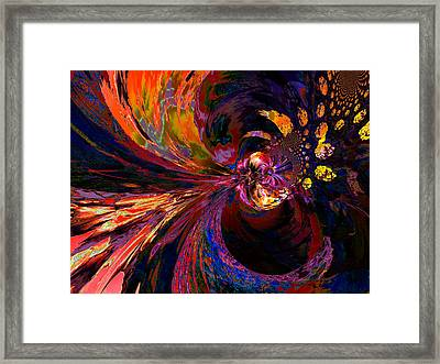 Strong Attractor Framed Print by Claude McCoy