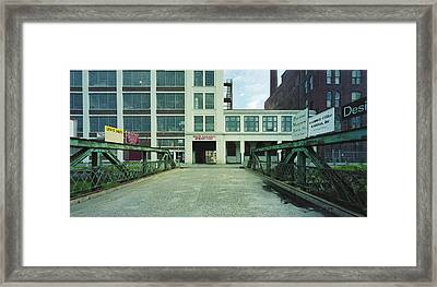 Studios For Rent Framed Print by Jan W Faul