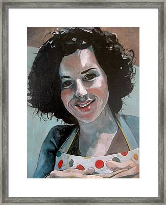 Study For Marilu' Framed Print by Ray Agius