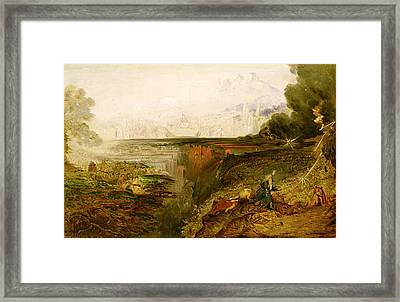 Study For The Last Judgement Framed Print by John Martin