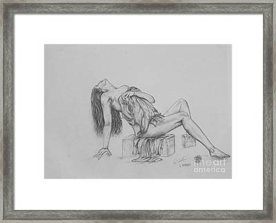 Study IIi Framed Print by Christopher Keeler Doolin