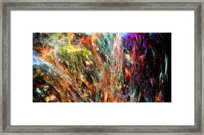 Substancial-a Framed Print by RochVanh
