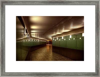 Subway Path Framed Print by Svetlana Sewell