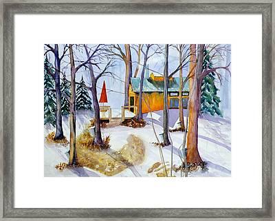 Sugar Bush Framed Print by Judy Kowalchuk