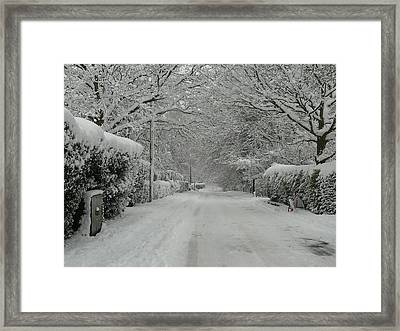 Sugar Road Framed Print by Rdr Creative