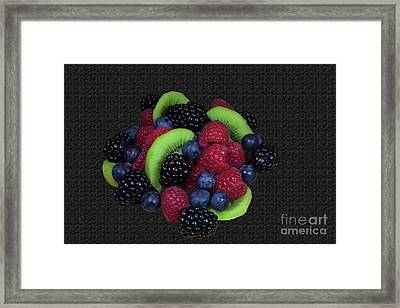 Summer Fruit Medley Framed Print by Michael Waters
