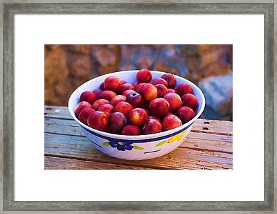 Summer Fruits Framed Print by Manolis Tsantakis