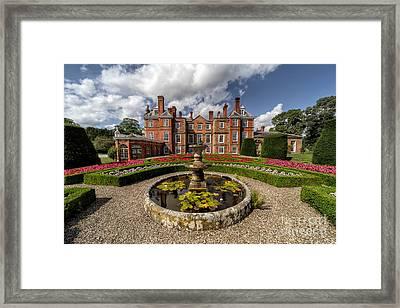 Summer Garden Framed Print by Adrian Evans